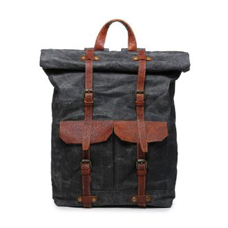 Рюкзак Waxed canvas Mergeboon (вощеный)