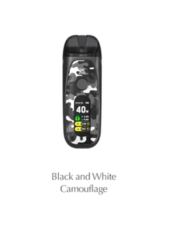 Набор SMOK POZZ X 1400mAh Black and White Camo