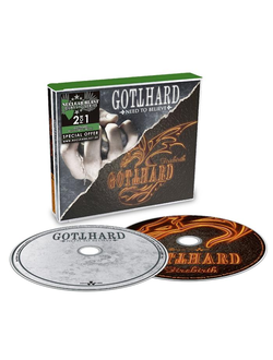 Gotthard -  Need to believe / Firebirth 2CD BOX