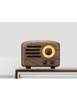 Радио Xiaomi Radio Elvis Presley FM Bluetooth Portable Speaker Walnut