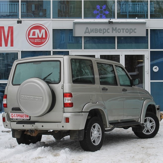 УАЗ Patriot Comfort 2.7 MT (128 л.с.) 2014 год