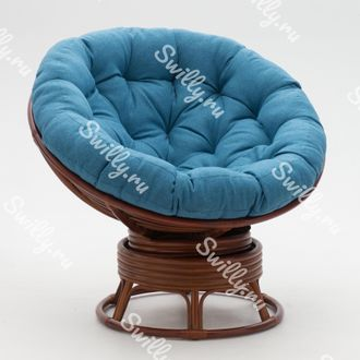 Кресло Swilly Swivel Papasan 6 орех