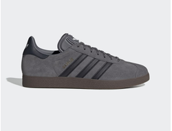 Adidas Gazelle Gray/Black серо-черные