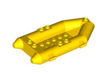 Boat, Rubber Raft, Small, Yellow (30086 / 4106548 / 4501128 / 4501130 / 6099480)