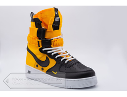 Кроссовки Nike Air Force 1 Special Field Yellow/Black мужские арт. N712