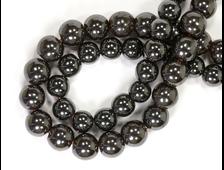 Бусина Гематит, шар 4 мм (1 шт) №17785