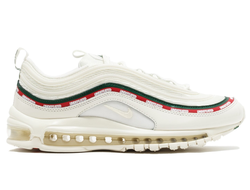 Nike Air Max 97 Undefeated белые с красным