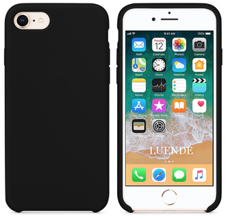 iPhone 6 / 6s silicone case черный