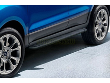 Пороги на Ford Ecosport (2014-…) Black Optima