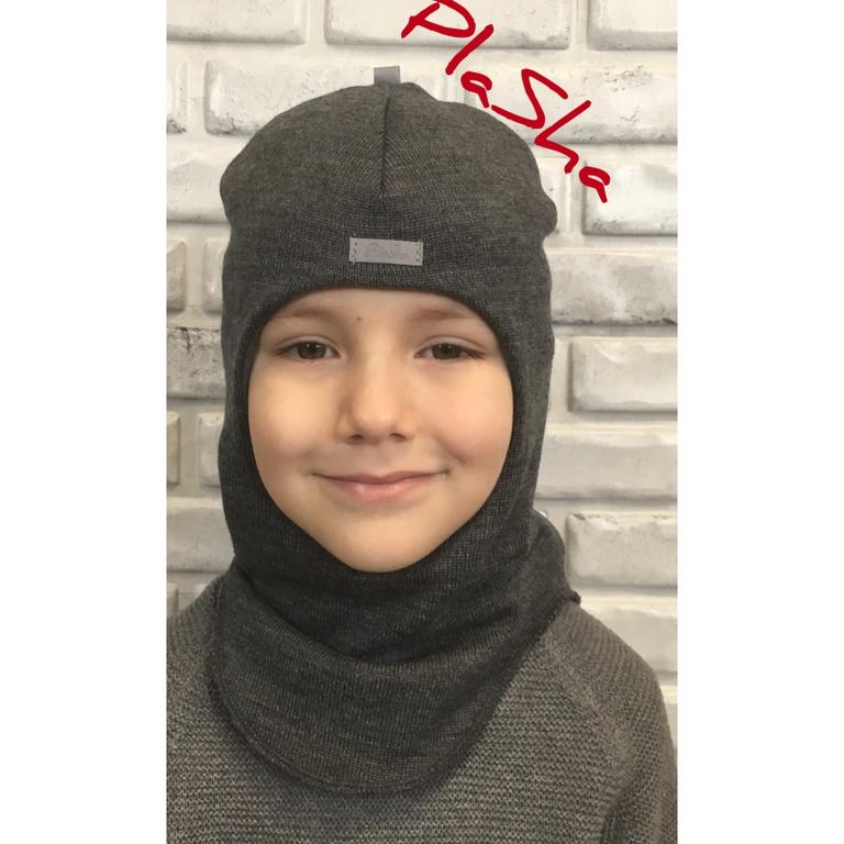 Арт.059 Шлем на флисовом подкладе для мальчиков и девочек