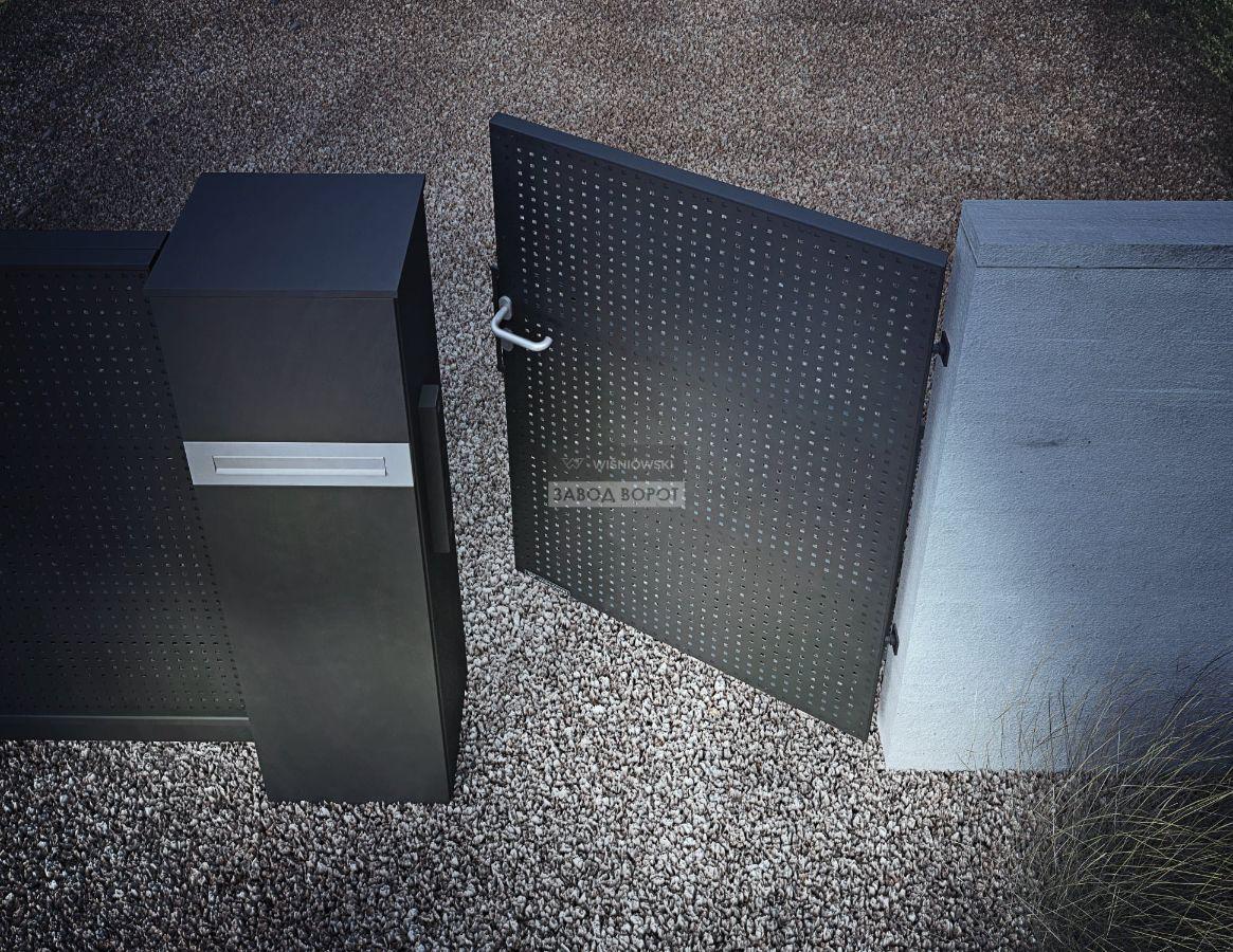 цена на уличные ворота - заборы - производство - польша