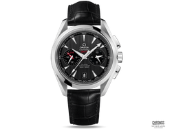 OMEGA AQUA TERRA CO‑AXIAL GMT CHRONOGRAPH 231.13.43.52.06.001