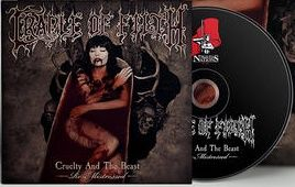 Cradle Of Filth Cruelty and the Beast - Re-Mistressed CD