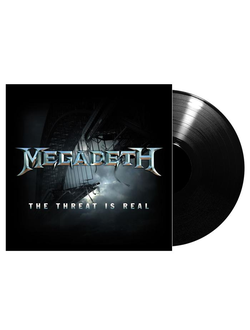 MEGADETH The threat is real mini LP