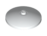 Dish 4 x 4 Inverted Radar with Solid Stud, White (3960 / 396001)
