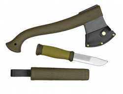 Набор Morakniv Outdoor Kit MG, нож Outdoor 2000 + топор Axe MG