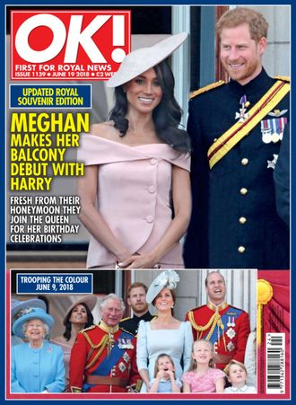 OK! Magazine № 1139 19 June 2018 Meghan Markle, Prince Henry (Harry) Cover Иностранные журналы