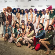 Платья трансформеры Sansara на COLOUR TROPHY 2017 - Loreal Professionnel