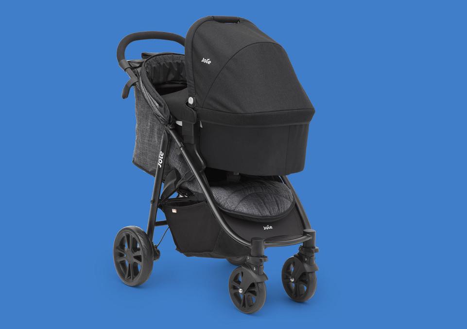Joie Litetrax 4 совместима с автомобильными креслами Gemm и i-Gemm группы 0+