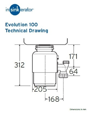 Insinkerator Evolution 150