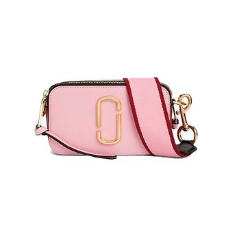 Marc Jacobs Snapshot Small Camera Bag BABY PINK/RED