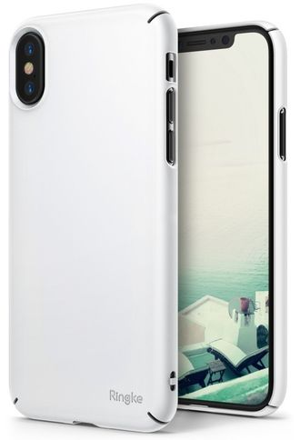 Чехол на Apple Iphone X, Ringke серия Slim, цвет белый (White)