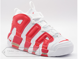 Кроссовки Nike Air More Uptempo Red мужские арт. N398