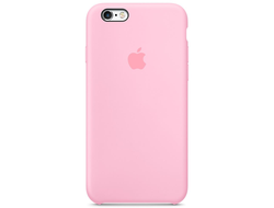 Чехол-накладка Apple Silicone Case iPhone Hot Pink