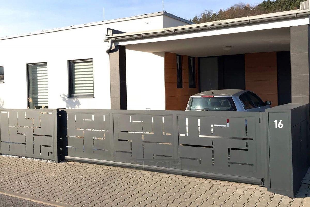 оцинкованные ворота для въезда - горячая оцинковка - изготовление - монтаж