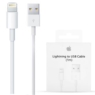 USB Кабель 8 pin для iPhone (5, 5C, 5S, 6, 6 Plus, 7, 7+, 8, 8 Plus, X) iPad (4, Mini 1/2/3, Air 1/2, Pro)