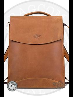 ed14fbe378a0 Кожаные рюкзаки Mapo и Kokosina от Bagcom