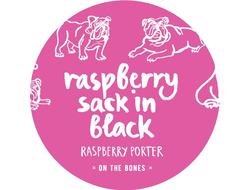 Raspberry sack in black, One The Bones 0,5