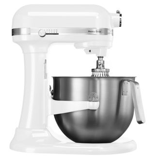 Миксер профессиональный, Heavy Duty, чаша 6,9 л., белый, 5KSM7591XEWH, KitchenAid