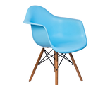 Стул Eames DAW голубой Stool Group