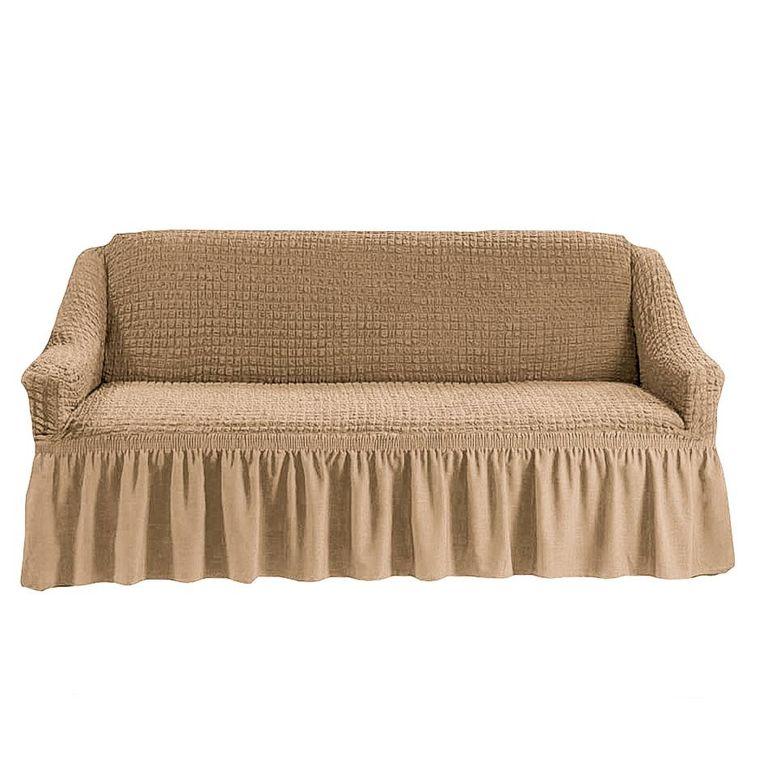 Чехол на диван, Бежевый 212