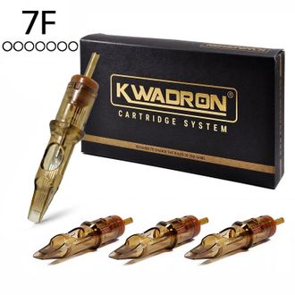 "7FLLT / 0,35mm - Flat Long Taper ""KWADRON"""