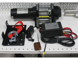 Лебедка ATV Electric Winch 12v, 4000LBS. (кевлар  трос)