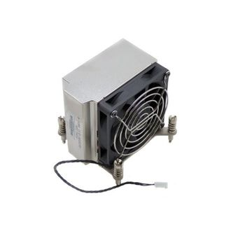 Радиатор  и вентилятор Processor Heatsink & Fan Assembly HP для  Workstation  HP Z400 Z600 Z800 , 463990-001