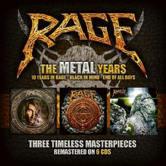 RAGE - The Metal Years 6-CD BOX-SET