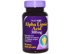 Alpha Lipoic Acid 300 mg Natrol