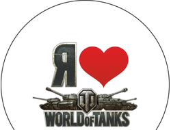 Значки WORLD OF TANKS МИР ТАНКОВ