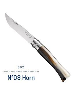 Нож Opinel N°08 Horn