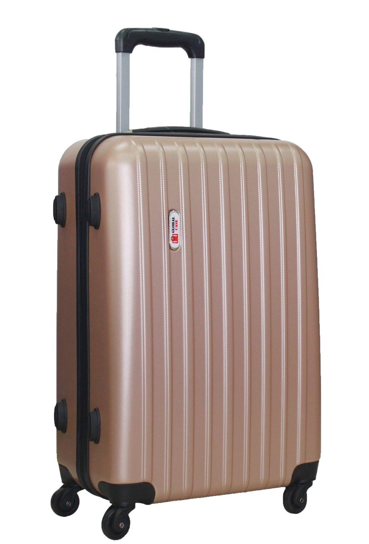 57d66204578f Средний (M) - Пластиковый чемодан Global Case Черный