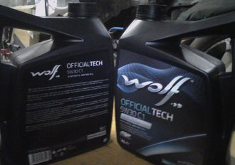 Масло моторное WOLF OFFICIALTECH 5W30 C1 5L