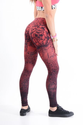 Леггинсы LEGGINGS ART BORDO 880