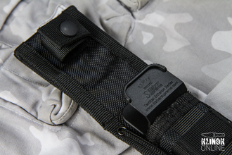 Нож Croc D2 Black Titanium Tactical Echelon