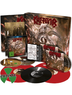 KREATOR Gods of violence BOX SET MAILORDER