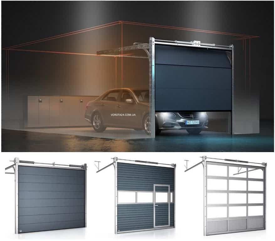 изготовление ворот на гараж - эксклюзивные гаражные ворота
