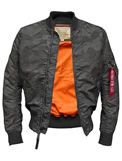 Куртка Alpha Industries MA-1TT Black Como