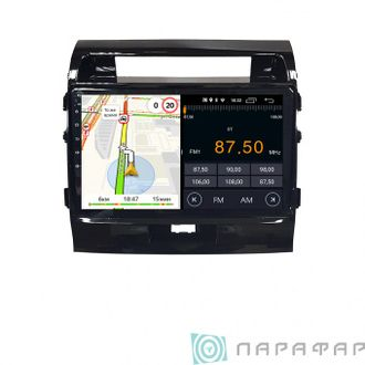 Штатная магнитола Parafar для Toyota Land Cruiser 200 2007-2015 на Android 8.1.0 (PF381LTX)